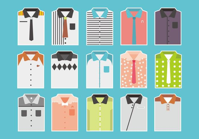 Folded Shirt Vectors