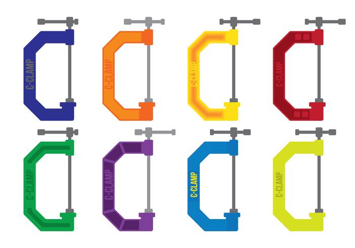 ColorfulC Clamp Vectores