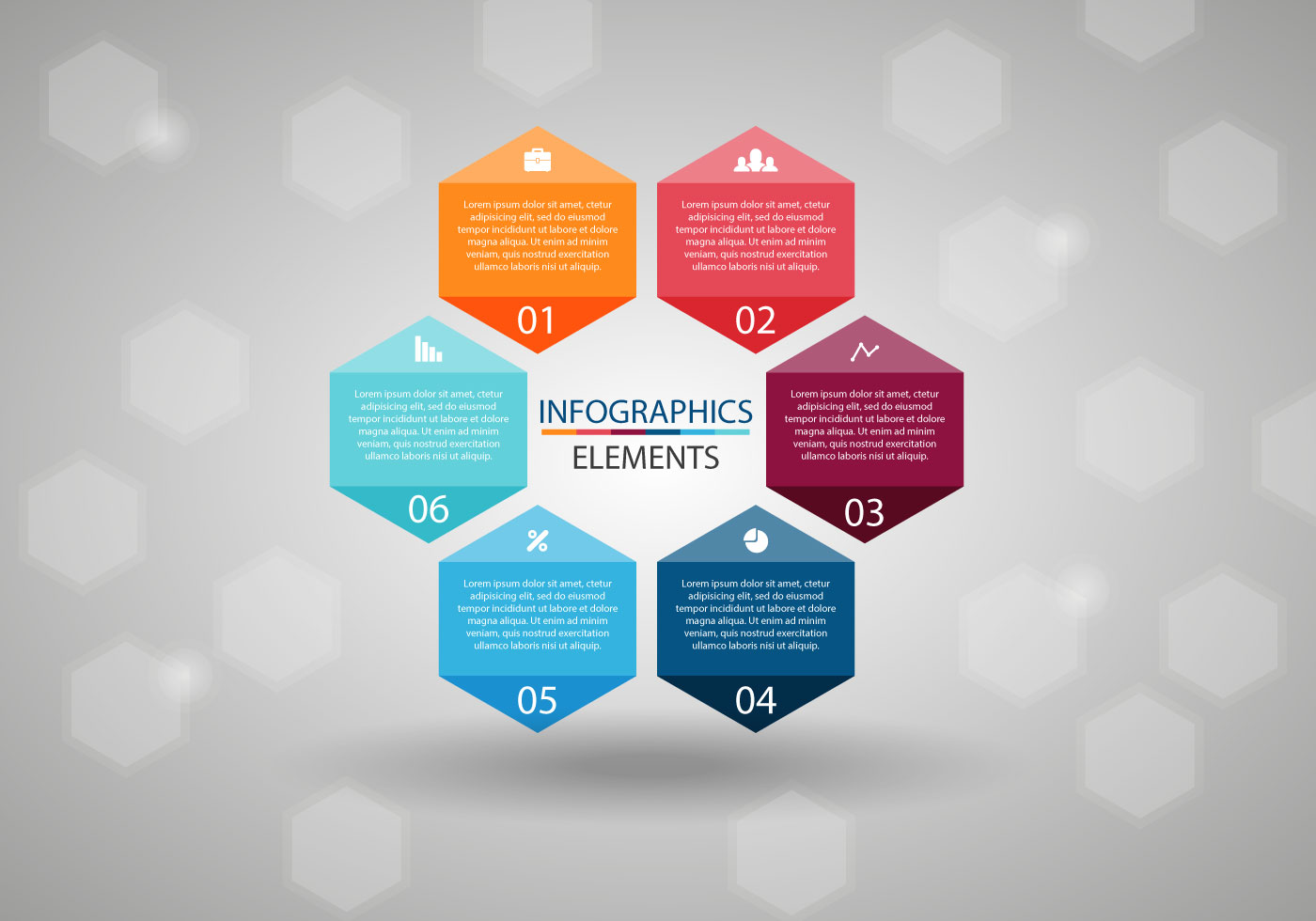 Free Infographics Elements Vector - Download Free Vector ...