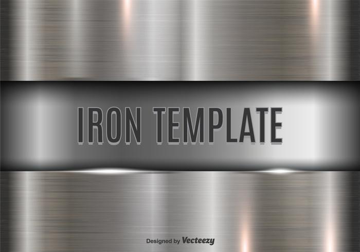 Iron template