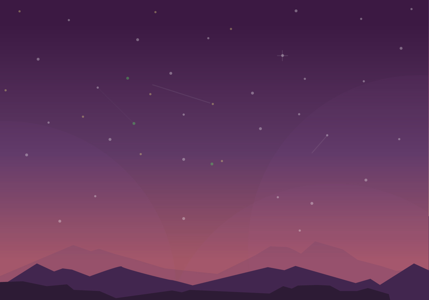 Milky Way Background Vector