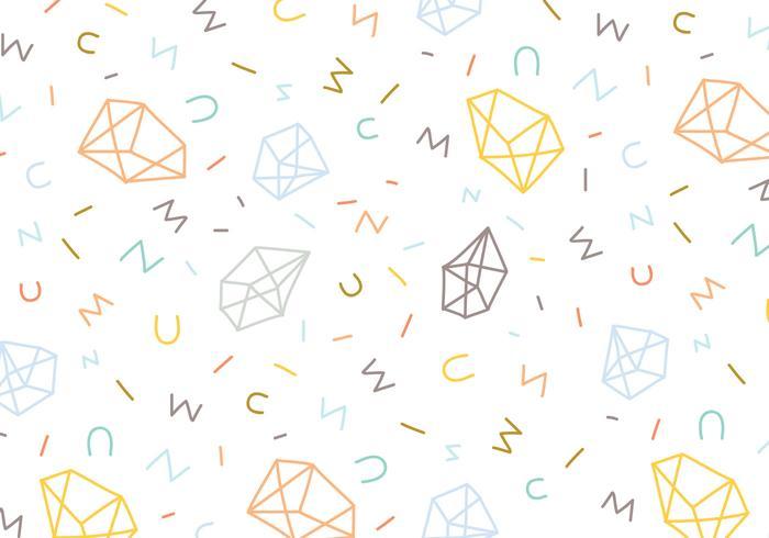Fondo abstracto de patrón de gema