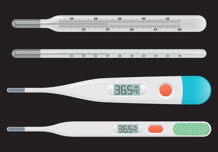 Medical Thermometer Vectors
