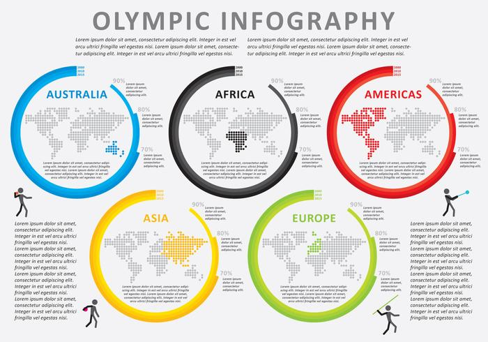 Olympic Infography Vector