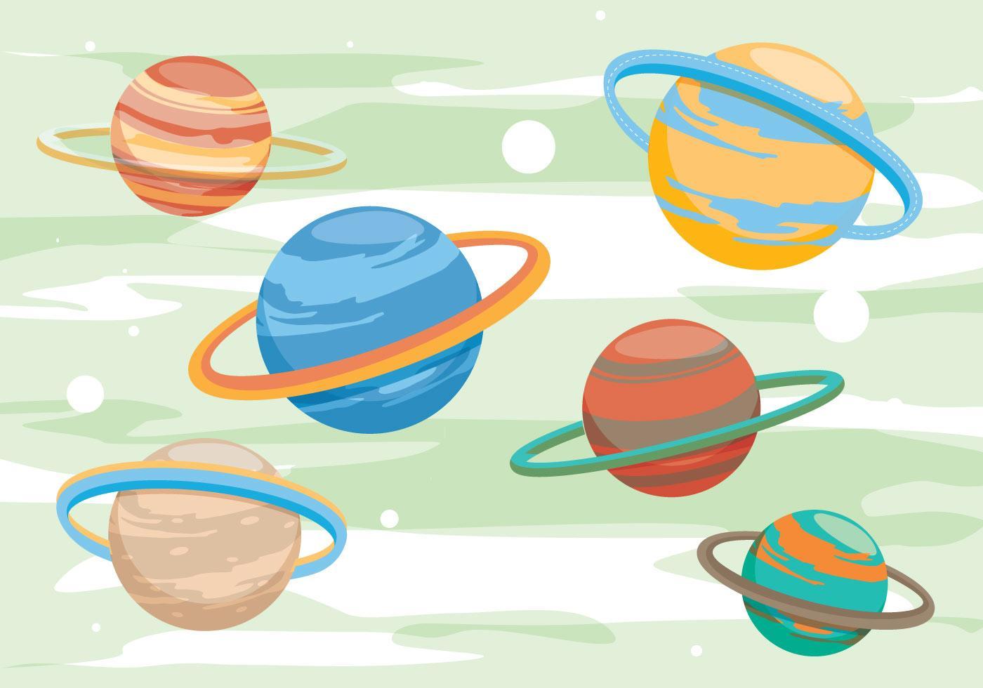 Планета нарисованная картинка
