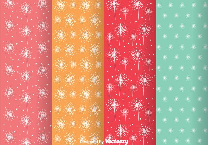 Abstract Colorful Girly Pattern Vectors