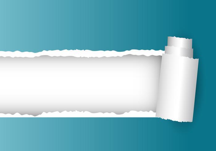 Vector de papel rasgado
