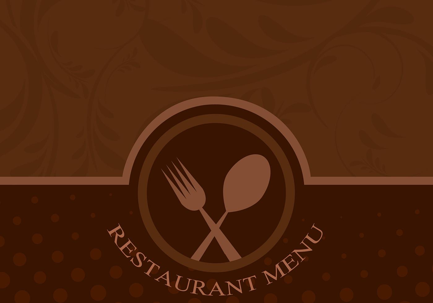 restaurant menu background free vector art - (56360 free downloads)