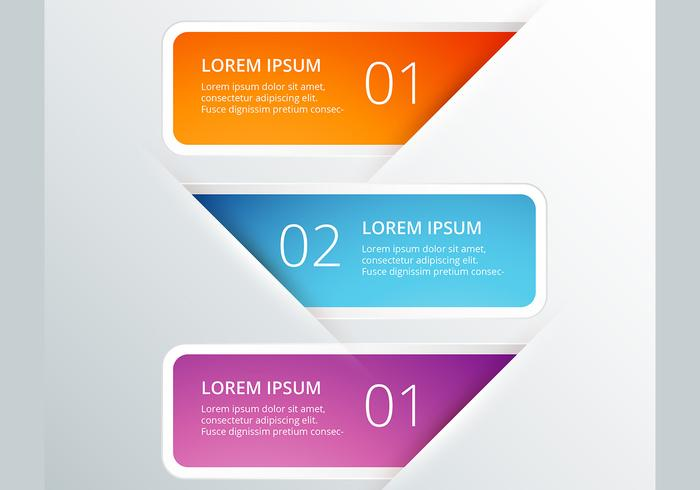 Infographic vector design set