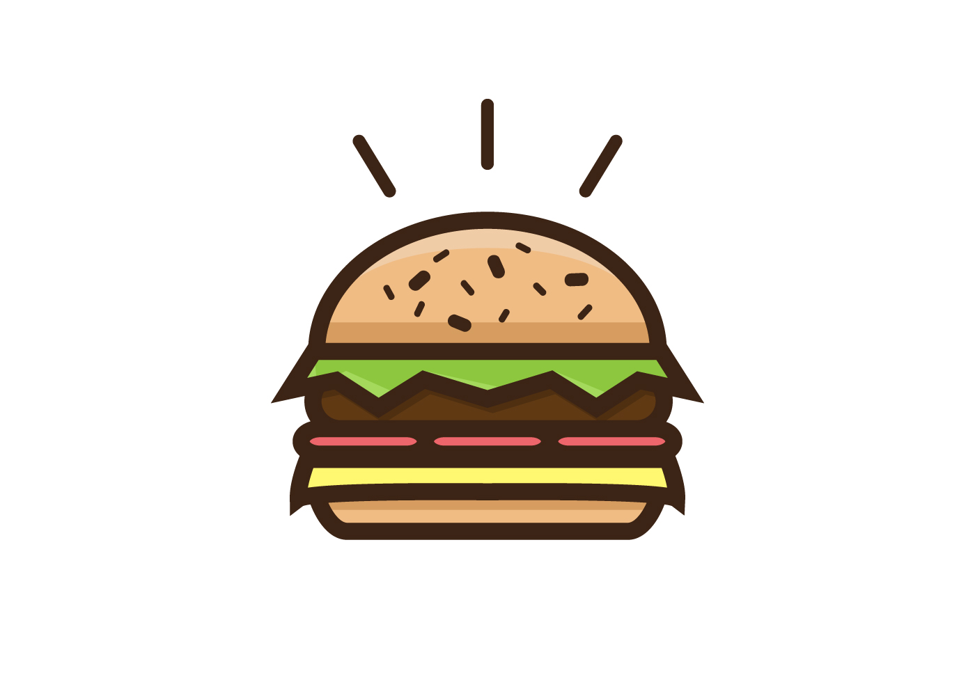 thick burger vector download free vector art  stock french fries clipart png french fries clip art free
