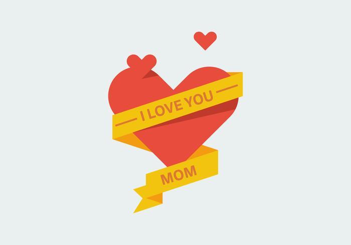 Vetores amor mamãe