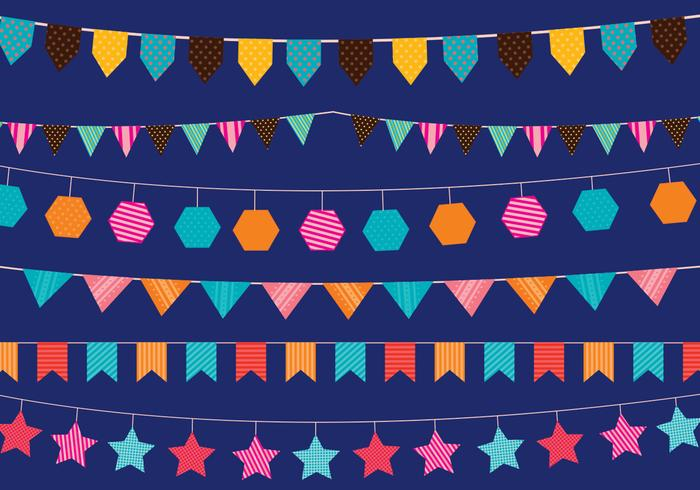 Festival Flagge Vectorss