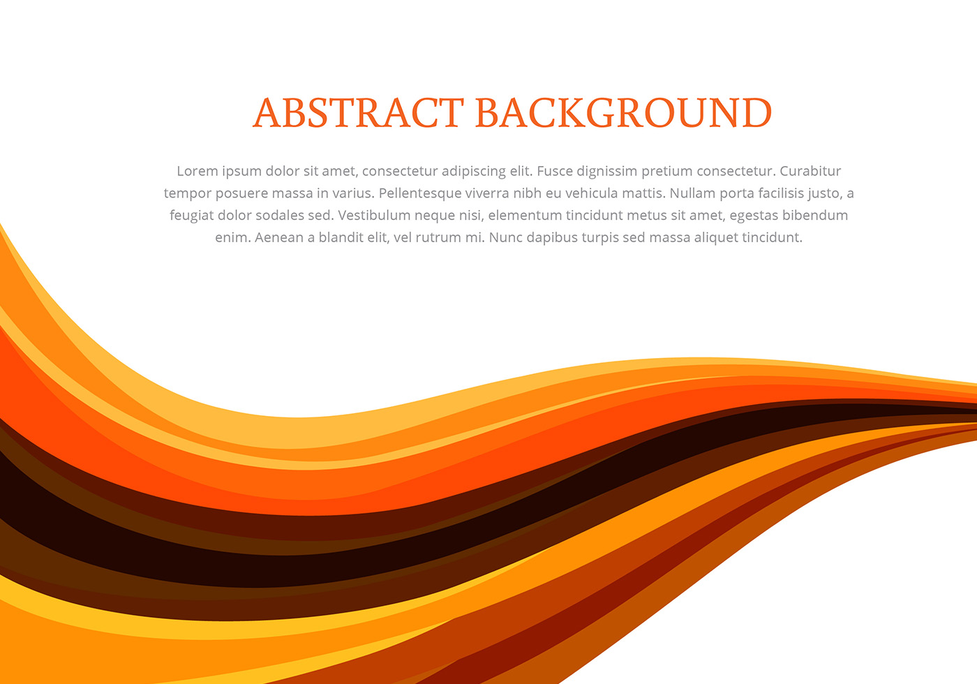 Orange Abstract Background Free Vector Art 9 052 Free