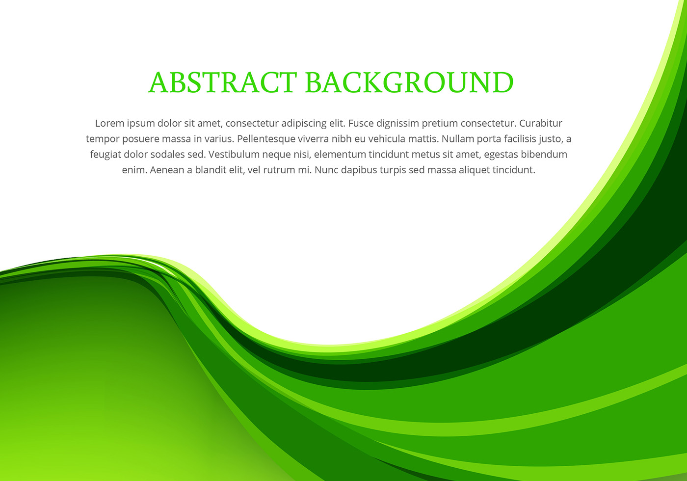 Green wave background design vector download free vector for Green design company