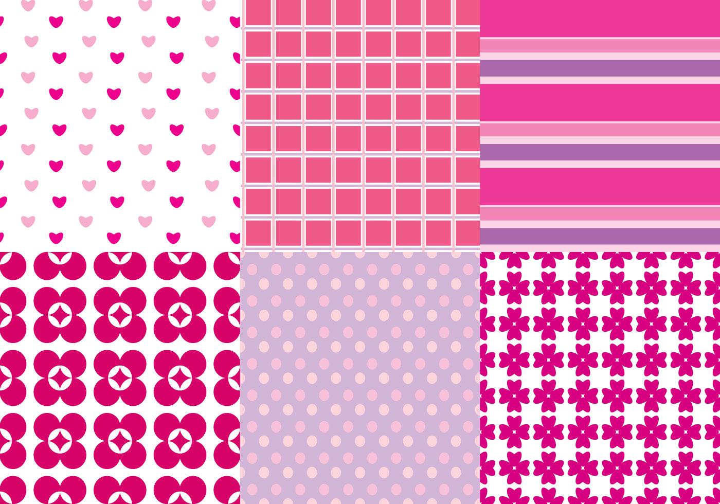 Pink Pattern Vectors - Download Free Vectors, Clipart