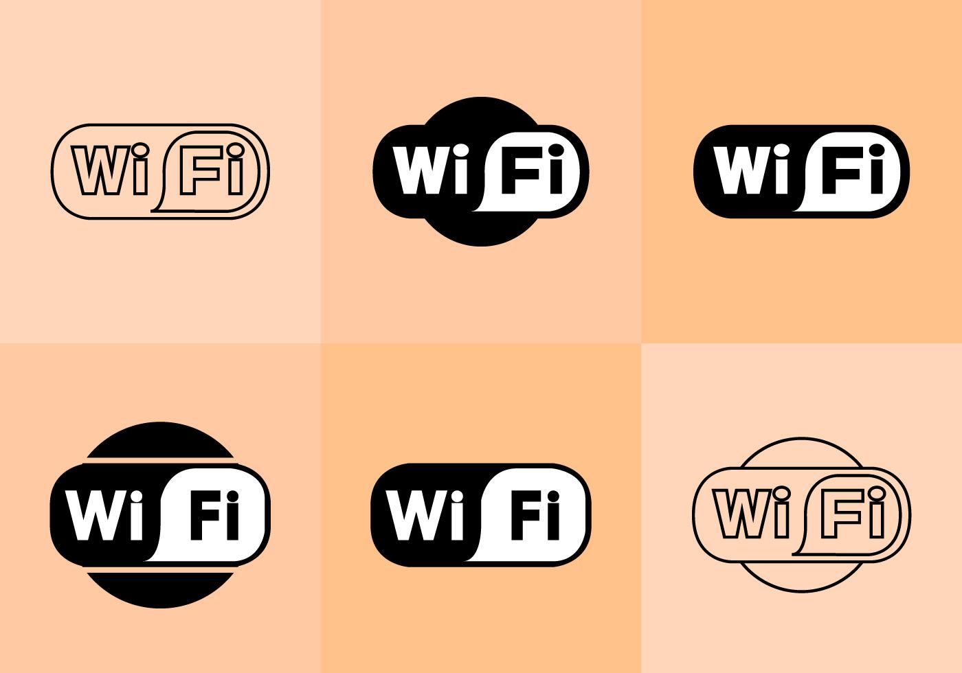 wifi logo vectors download free vector art stock
