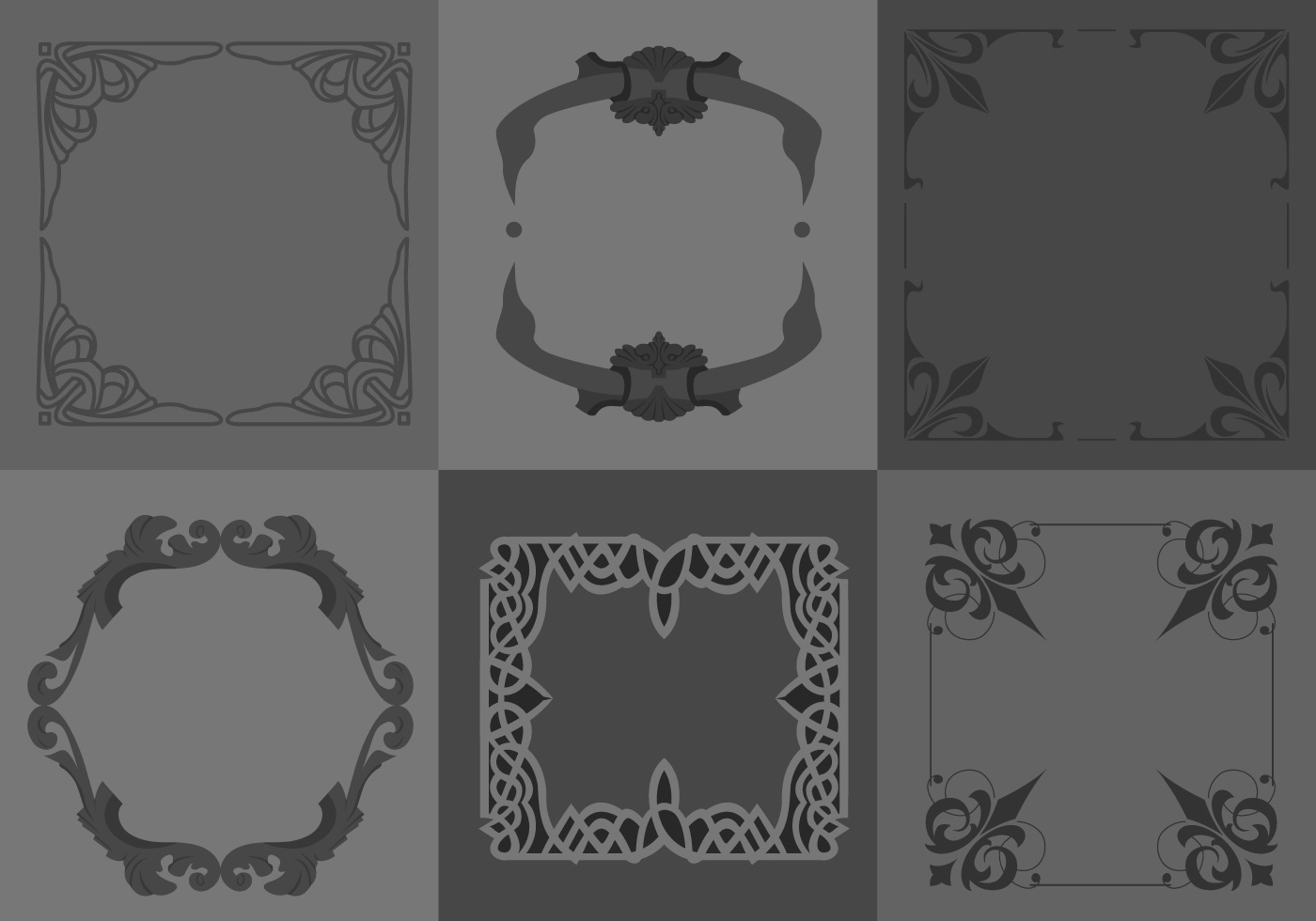 Free Gothic Borders Download Free Vector Art Stock