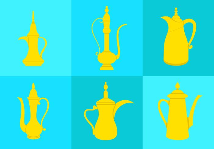 Arabischer Kaffeekanne