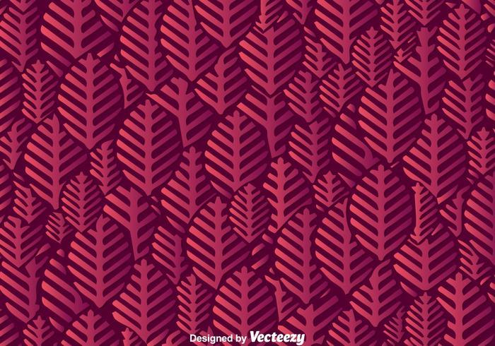 Purple Leaf Shape Background