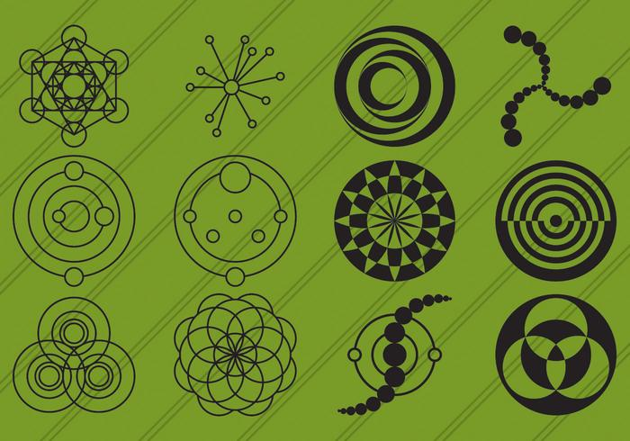Crop Circles Icons