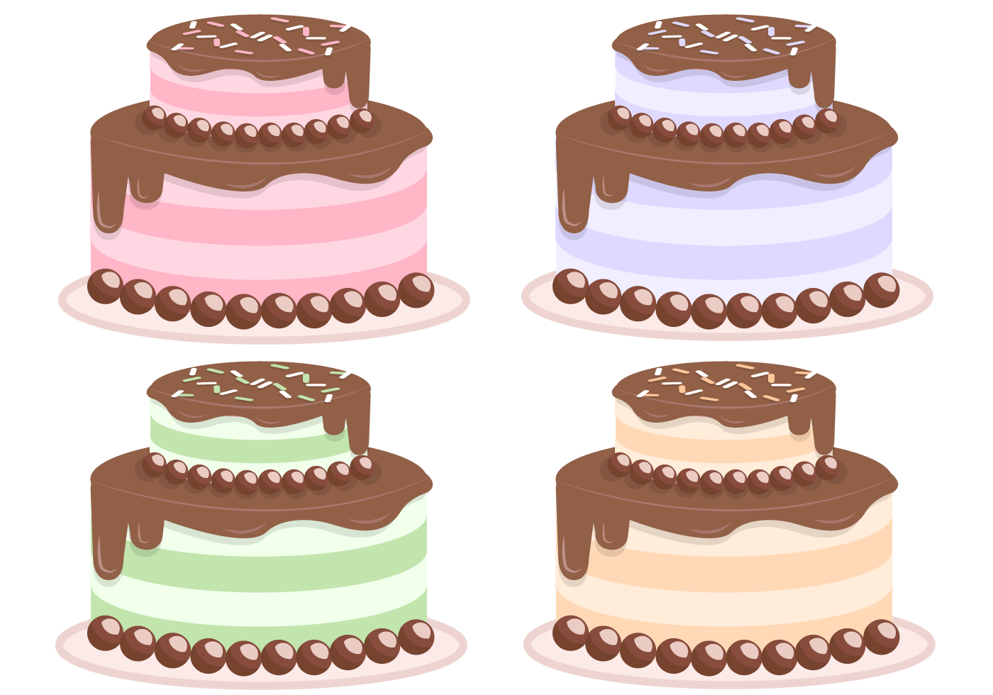 Cake Pictures Vector : Free Cake Vector - Download Free Vector Art, Stock ...