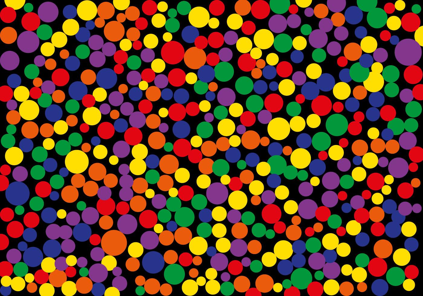 картинки с разноцветными точками это