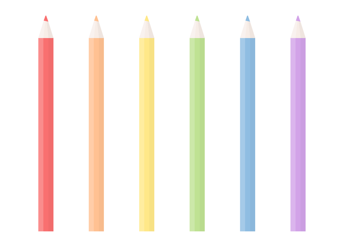 Vector de lápis grátis