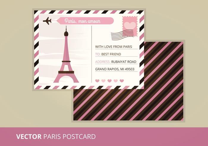 Vector Postcard