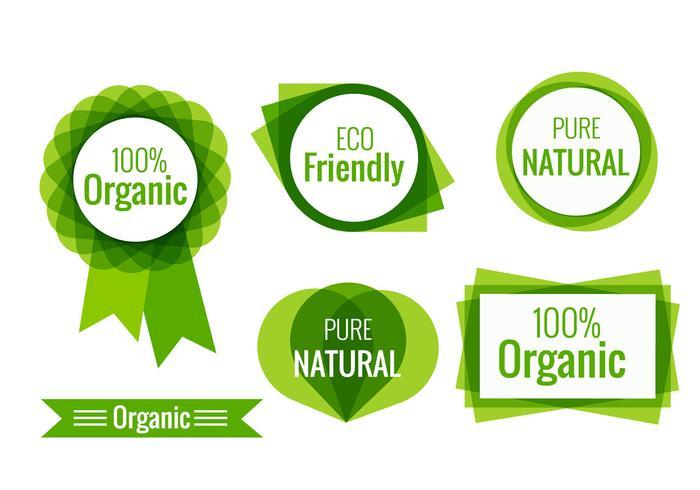 Eco vriendelijke labels
