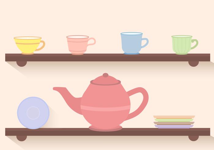 Free Tea Set Vector