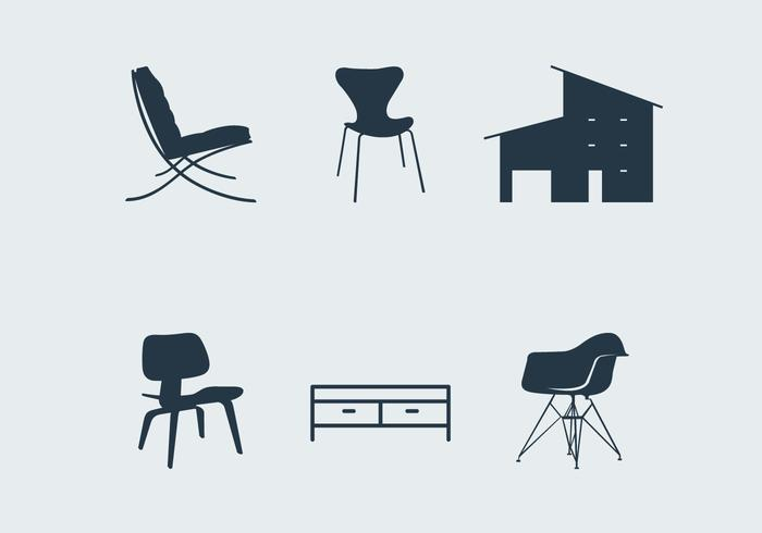 Midcentury modern furniture