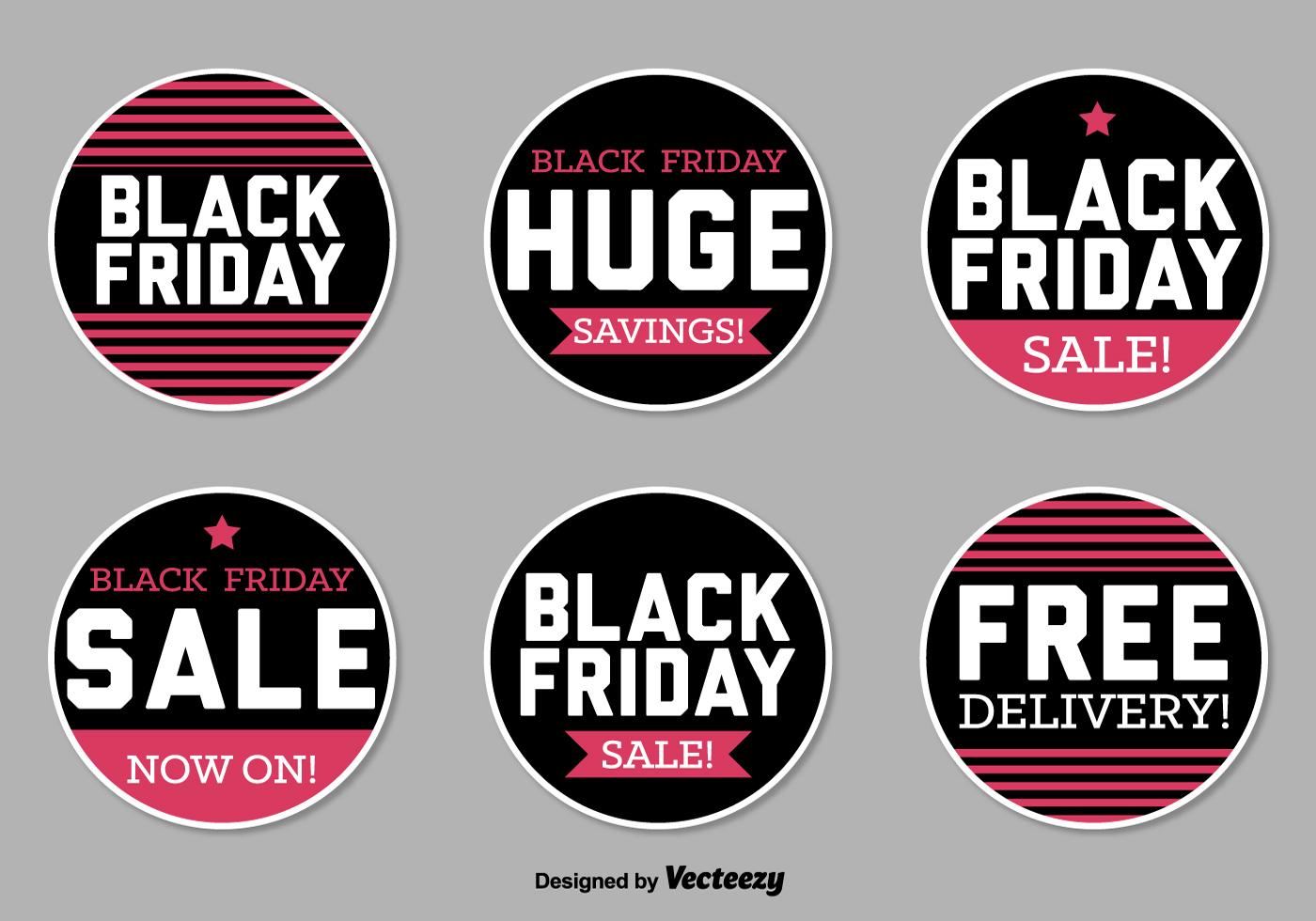 Autocollants vendredi noir téléchargez de lart des graphiques et des images vectoriels gratuits