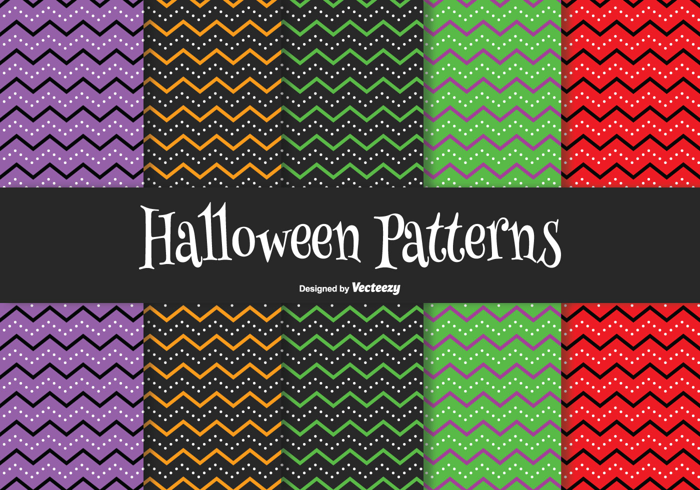 Halloween Pattern Set Download Free Vector Art Stock