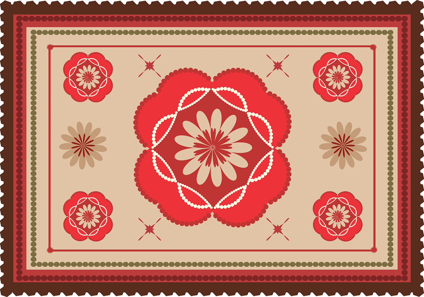 Area Rug Colorful Vector Download Free Vector Art Stock