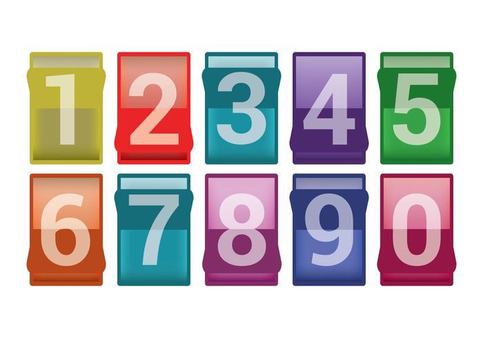 Anzahl Zähler Vektoren