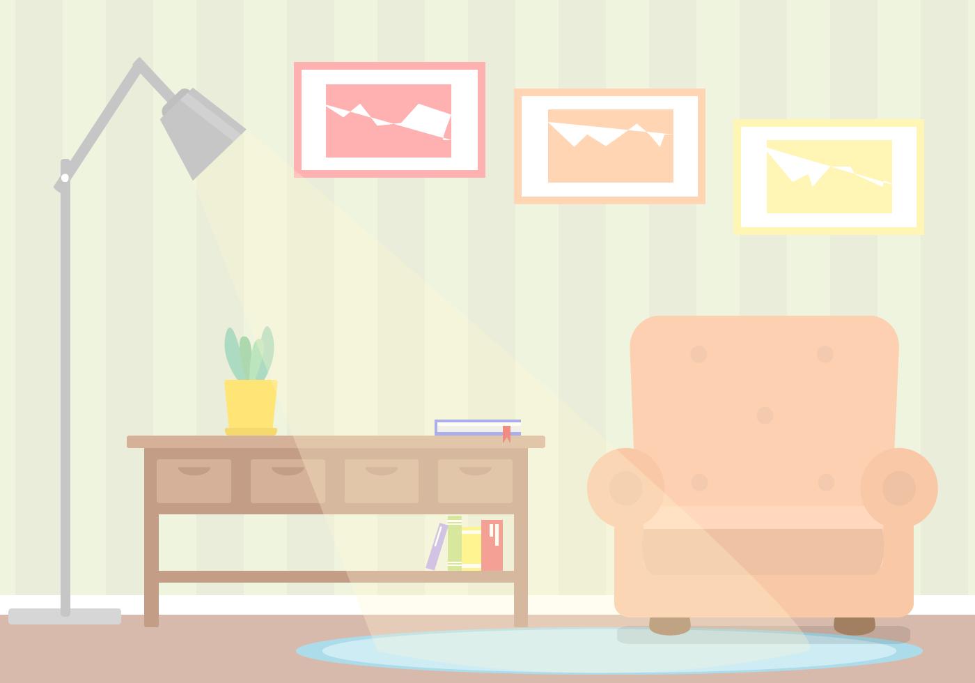 Free Living Room Vector Download Free Vector Art Stock