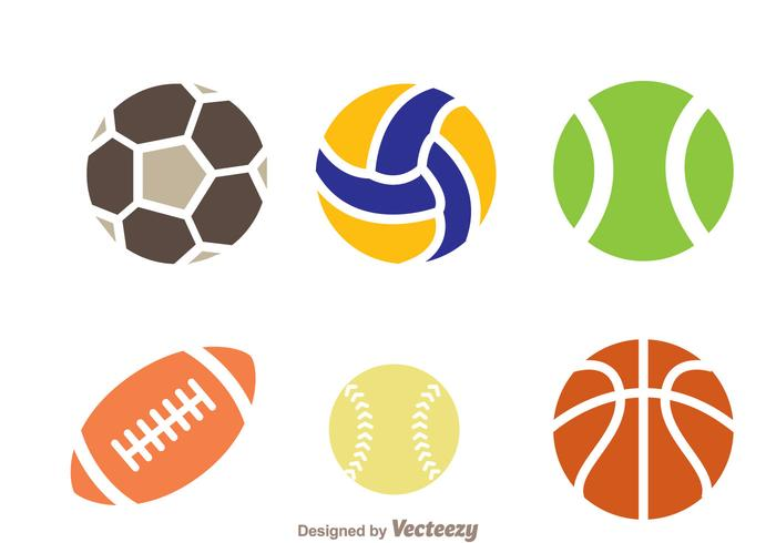 Sport Ball Icon Vectors