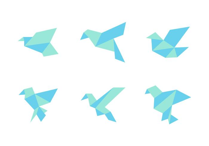 Free Simple and Neat Birds Vector