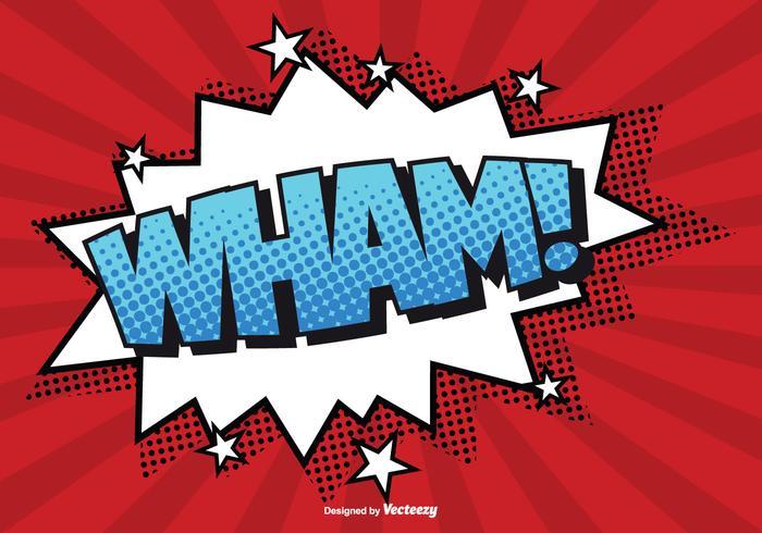 Wham comic comic style wham illustration download free vector art