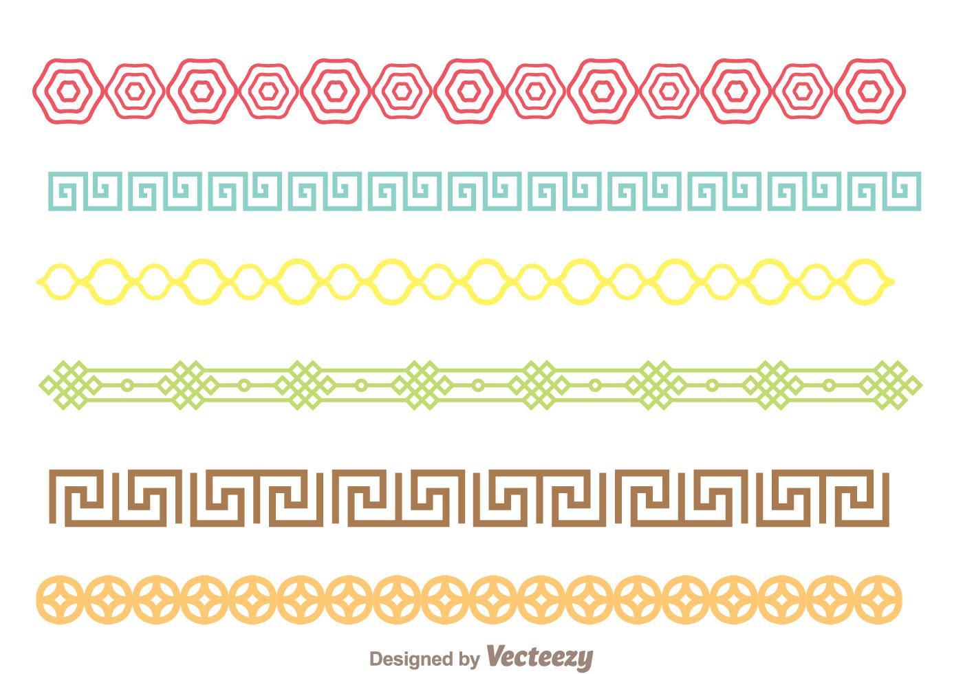 Colorful Borders Free Vector Art 26838 Free Downloads