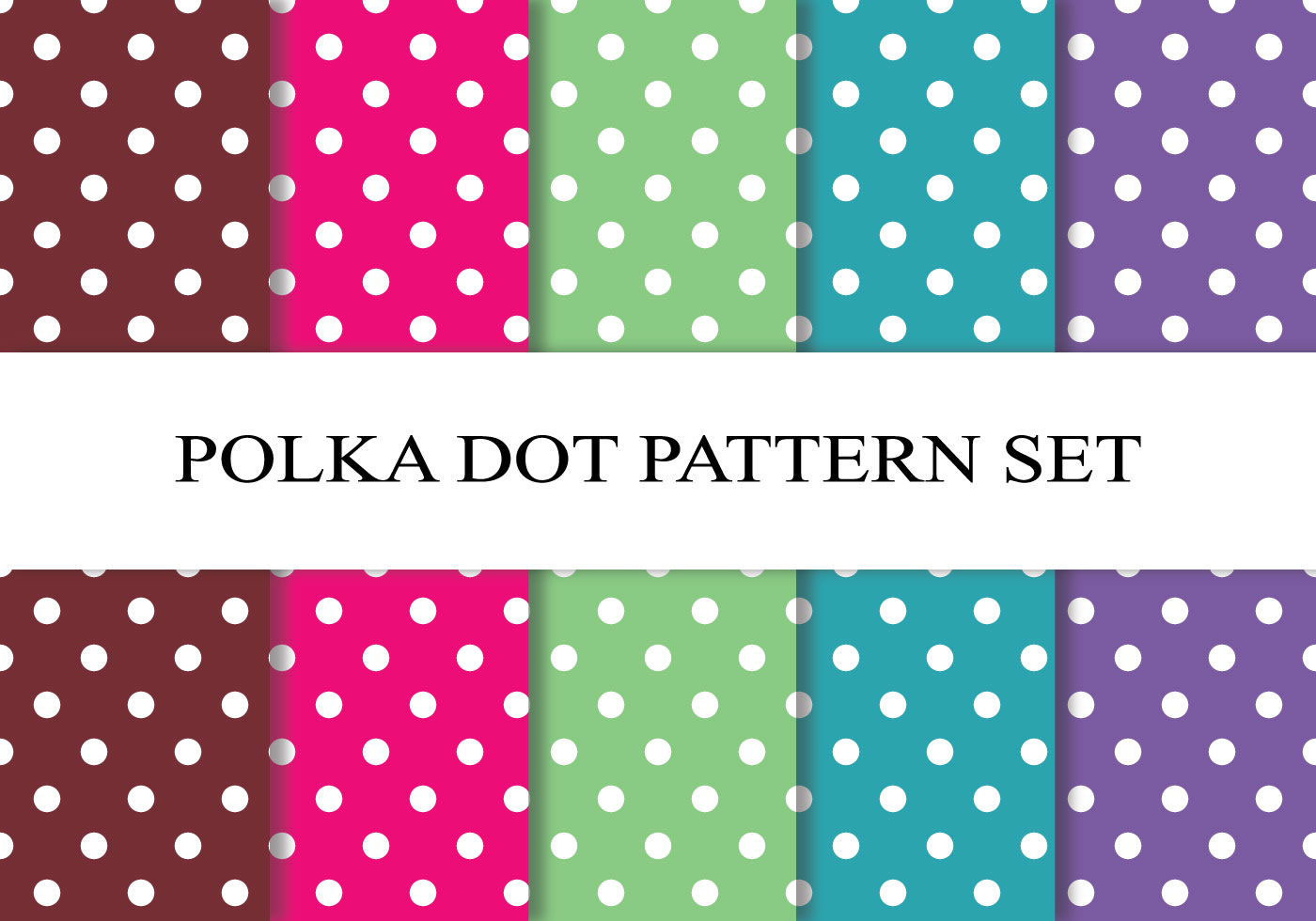 Cute Scrapbook Paper Patterns Colorful Polka Dot Pat...