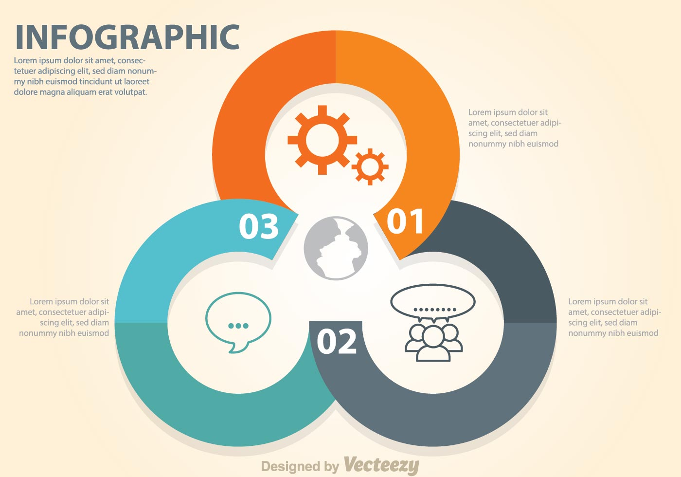 Business Diagram Circle Chart