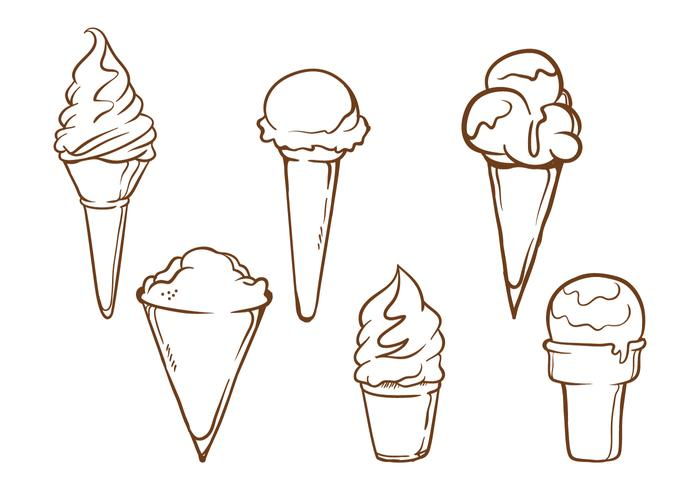 Snow Cone Illustrations