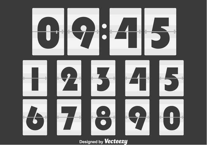 Contador de números blancos