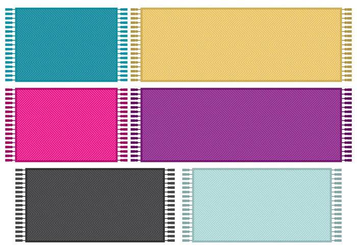 Chevron Pixel Teppiche