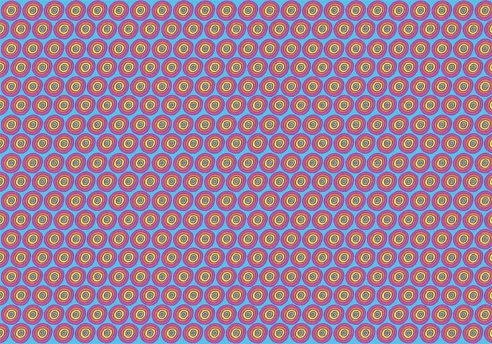 Free Polka Dot Pattern Vector Background