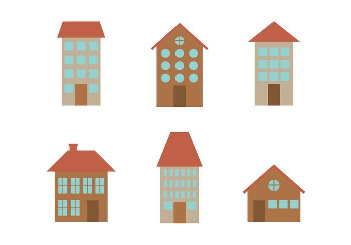 Townhomes Vectors