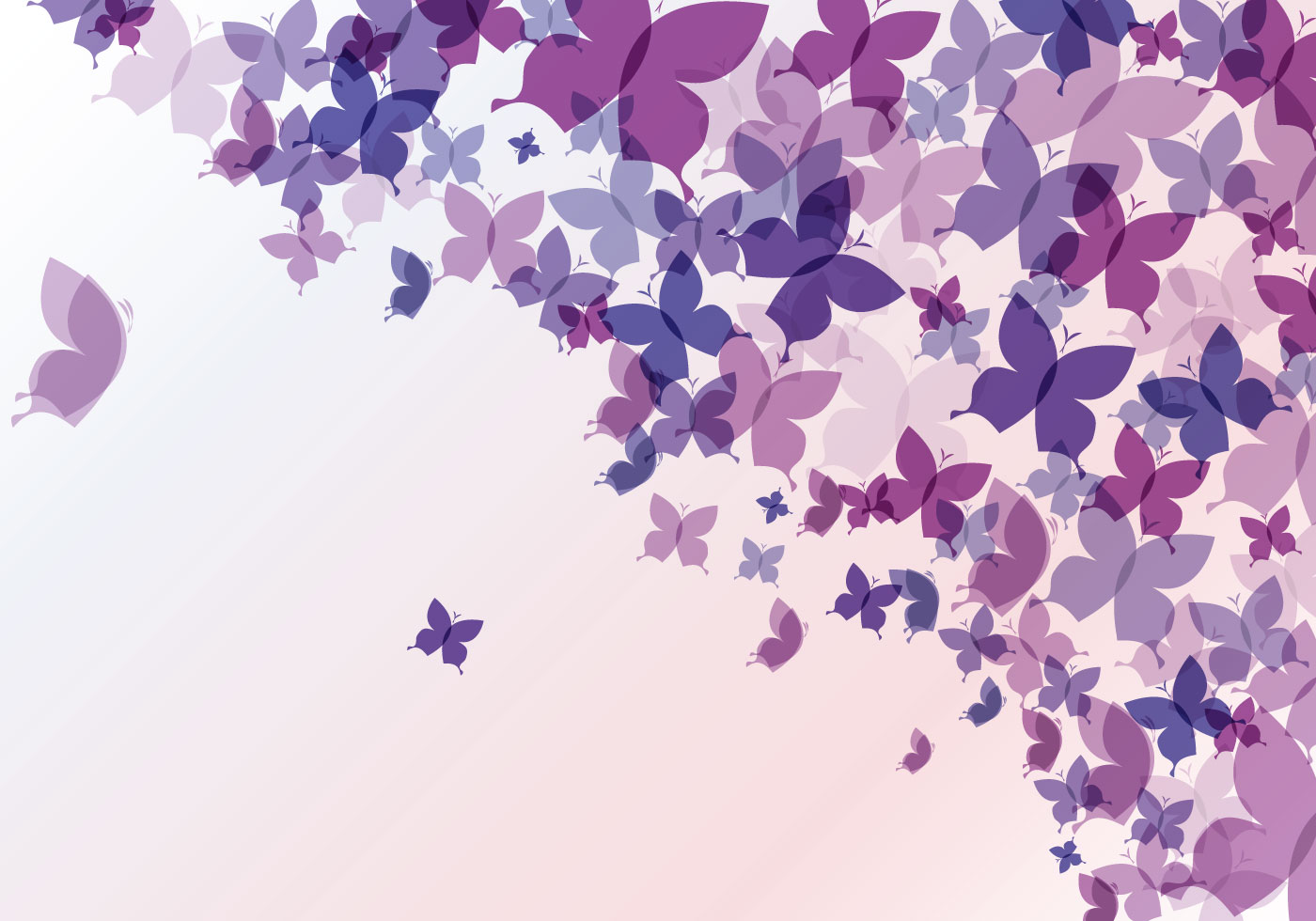 abstract butterfly background download free vector art