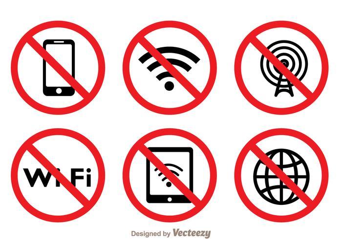 Blocked Wifi Symbol