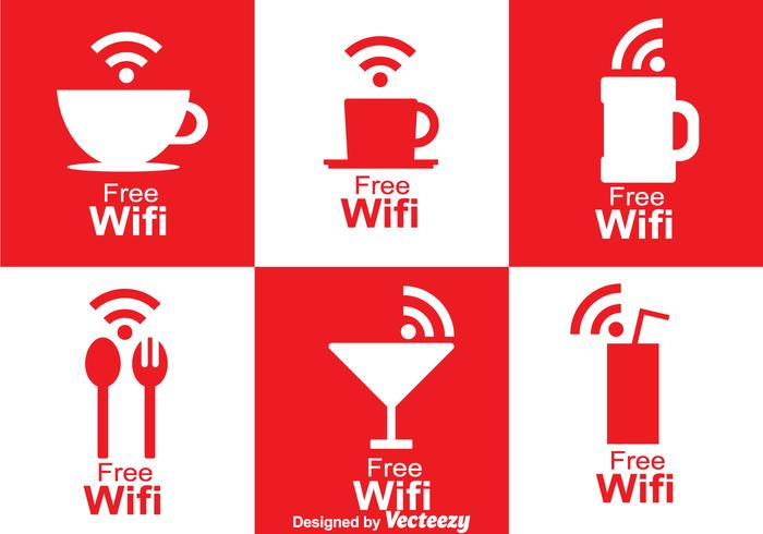 Símbolo de café Wifi